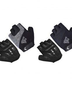 gloveglu gel ride half finger gloves