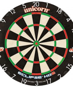 unicorn eclipse hd bristle dartboard-pdc endorsed
