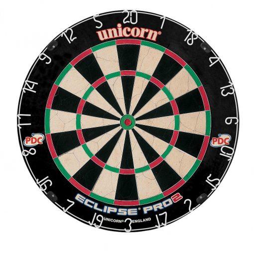 unicorn eclipse pro2 bristle dartboard-pdc endorsed