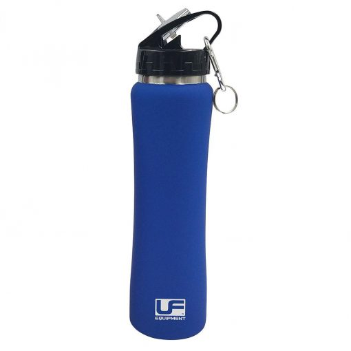 urban fitness cool insulated stainless steel water bottle 500ml blue