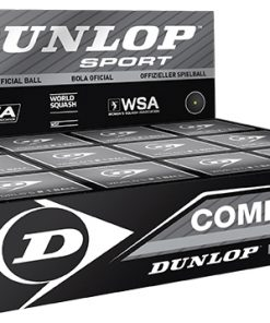 Dunlop Competition Squash Balls (1 Ball Box 12)