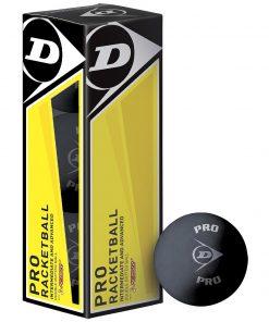 Dunlop Pro Racketball Balls (Box of 3)Dunlop Pro Racketball Balls (Box of 3)