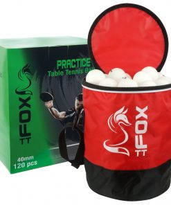 Fox TT Practice Table Tennis Balls & Bag (Pack of 120)