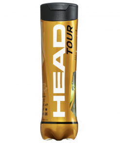 Head Tour Tennis Balls - Tube of 4