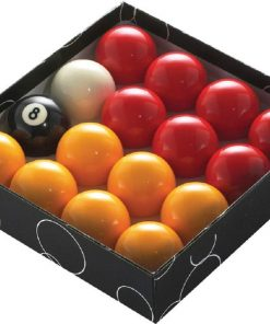 PowerGlide Pool Balls Red/Yellow