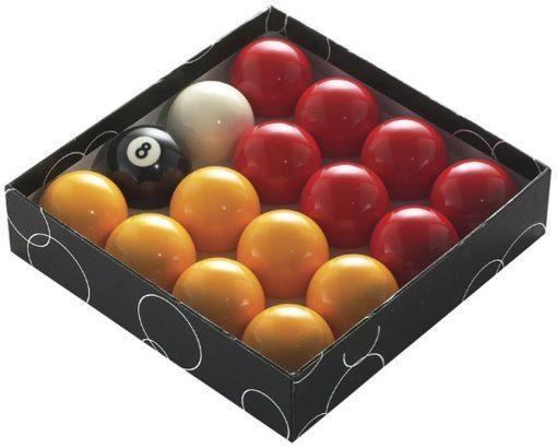 Powerglide Pool Ball Red/Yellow