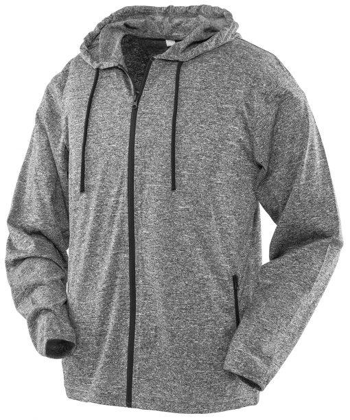 Spiro Hooded Tee Jacket