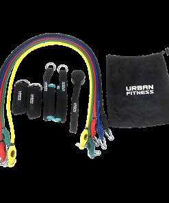 Urban Fitness 11pc Resistance Tube Set