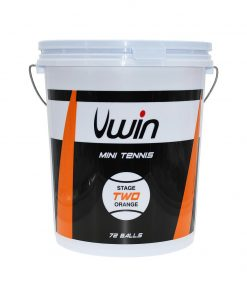 Uwin Stage 2 Orange Tennis Balls - Bucket of 72 balls