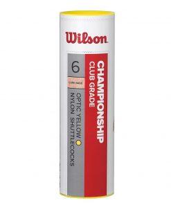 Wilson Championship Shuttle (Tube of 6)