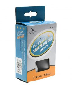 Witess 3 Star Table Tennis Ball (Pack of 6)