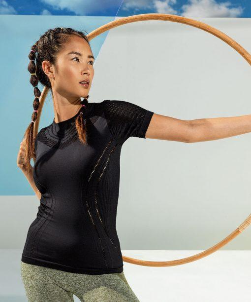 Women's TriDri® Seamless '3D Fit' Reveal Sports Top