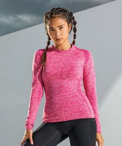 Women's TriDri® Seamless '3D fit' Multi-Sport Performance Long Sleeve Top