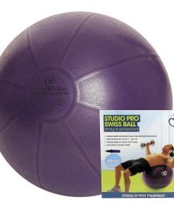 Yoga-Mad 500kg Swiss Gym Ball & Pump