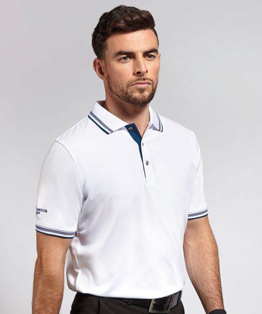 Glenmuir Ethan Tipped Polo Shirt