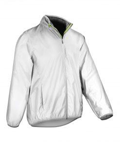 Luxe reflective hi-vis jacket