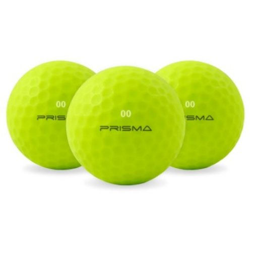 Masters Prisma Flouro Matt TI Golf Balls (Bag of 12)
