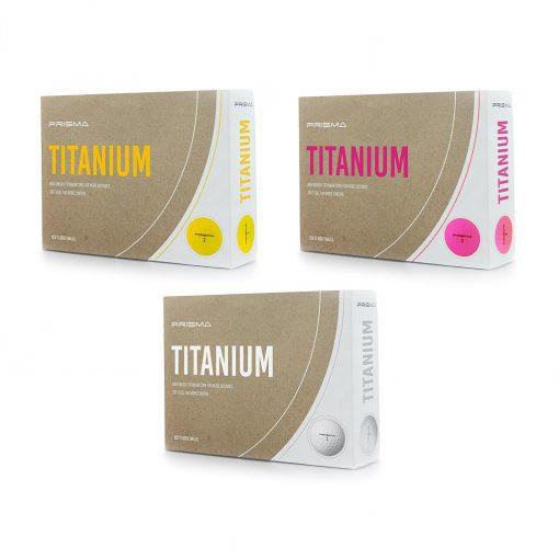 Masters Prisma Titanium Golf Balls (Box of 12)