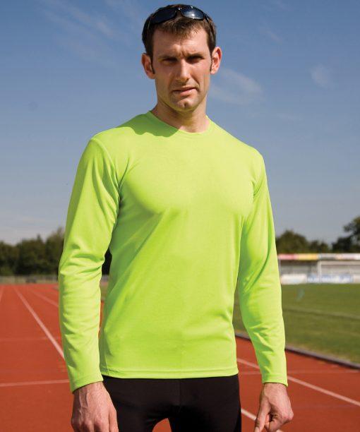 Spiro quick-dry long sleeve t-shirt