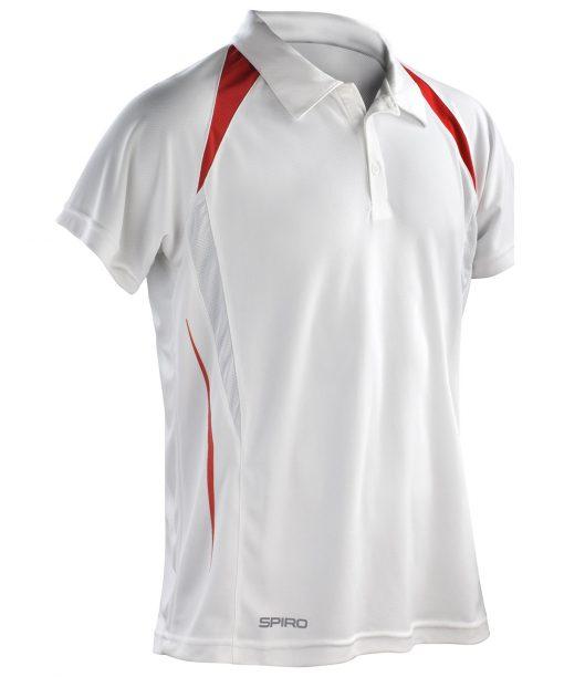 Spiro team spirit polo white red