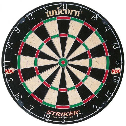 Unicorn Striker Bristle Dartboard - PDC Endorsed