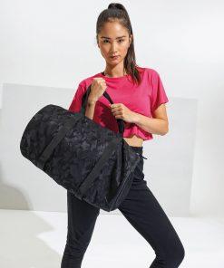 TriDri camo everyday roll bag