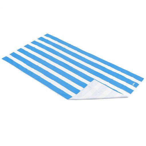 Yello Blue Stripe Quick Drying Towel