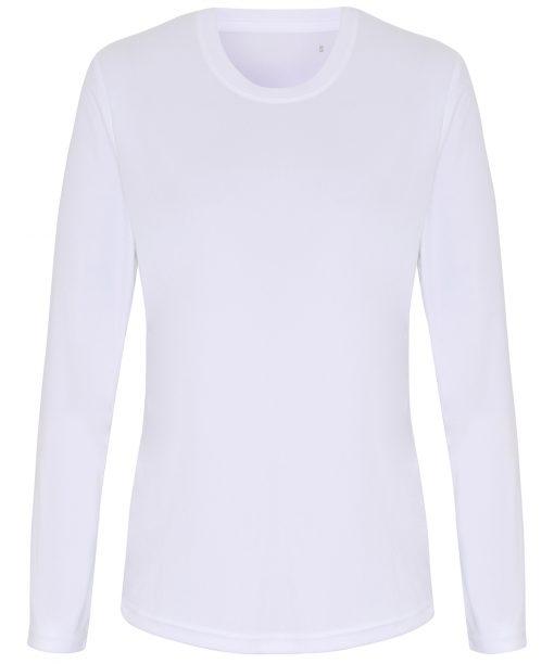 Womens TriDri long sleeve performance tee shirt